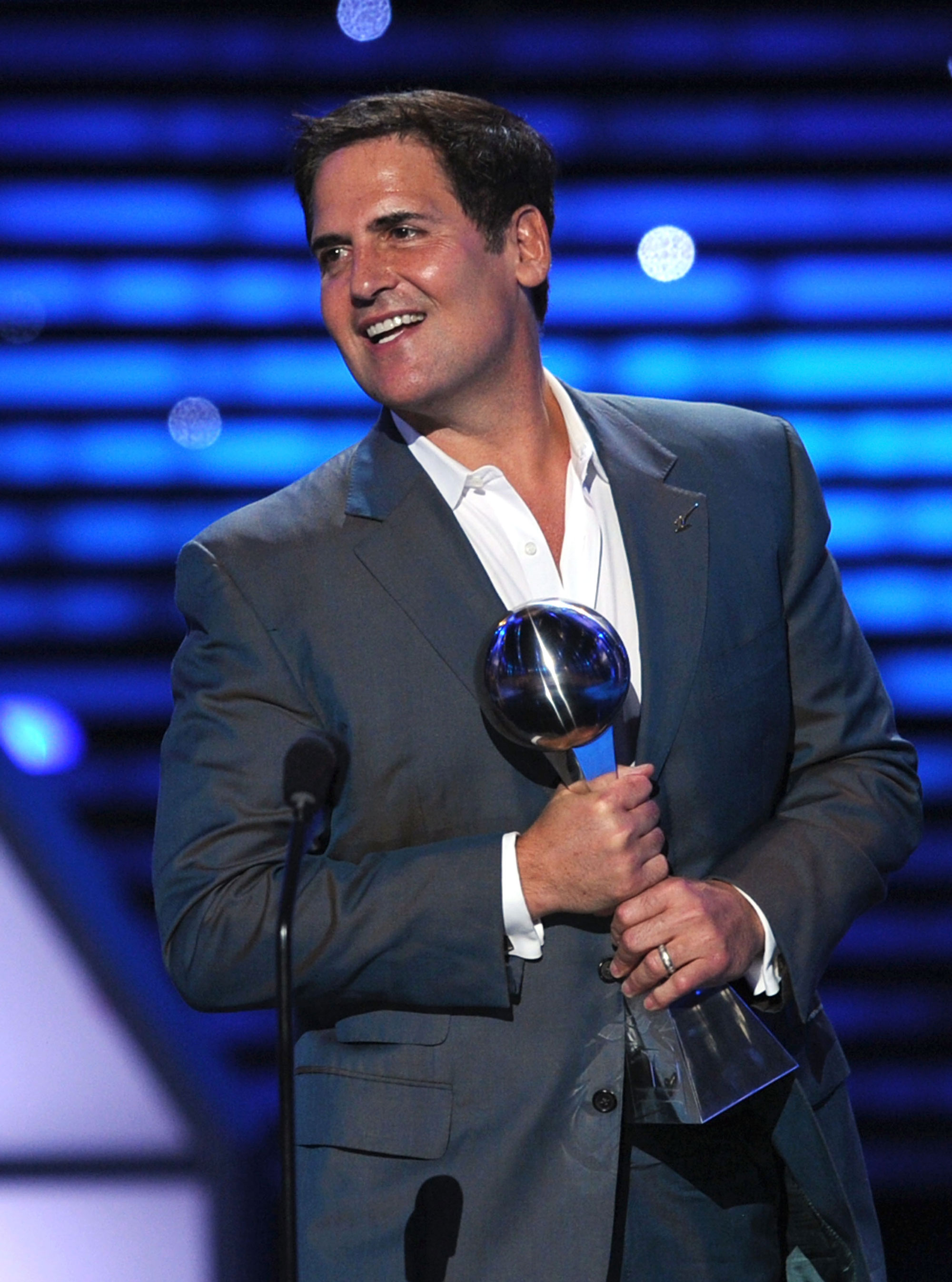 Mark Cuban Emmy Award